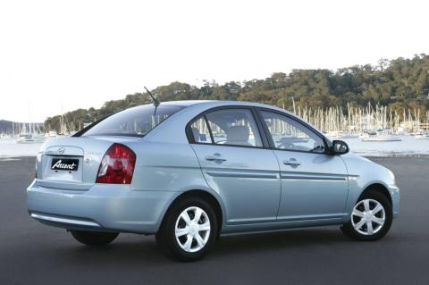 Hyundai Accent 2007 rent in Greece