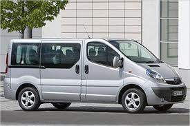 Rent Opel Vivaro in Greece