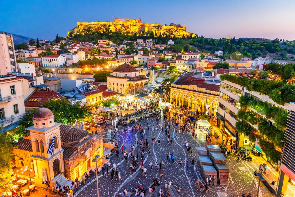 Autovermietung in Athen - L