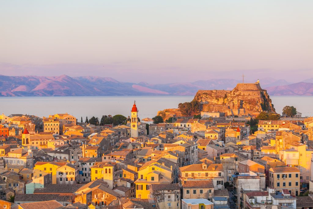 Rent a car in Corfu