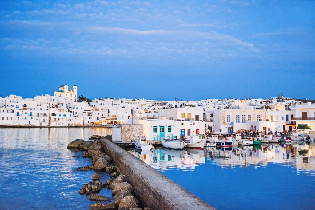 Rent a car in Paros