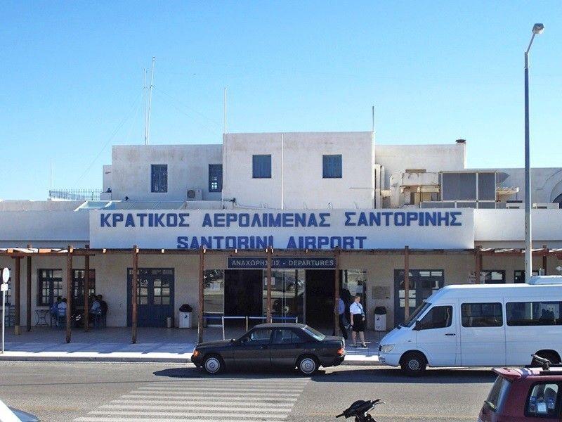 Mietwagen Santorini Flughafen autovermietung