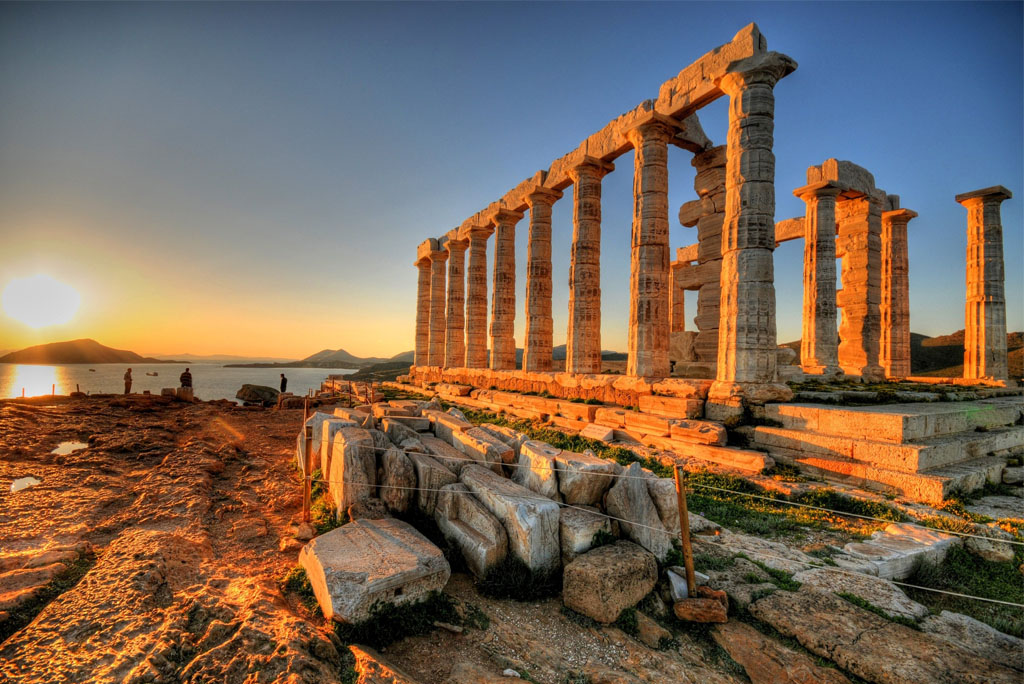Tempel des Poseidon in Sounio