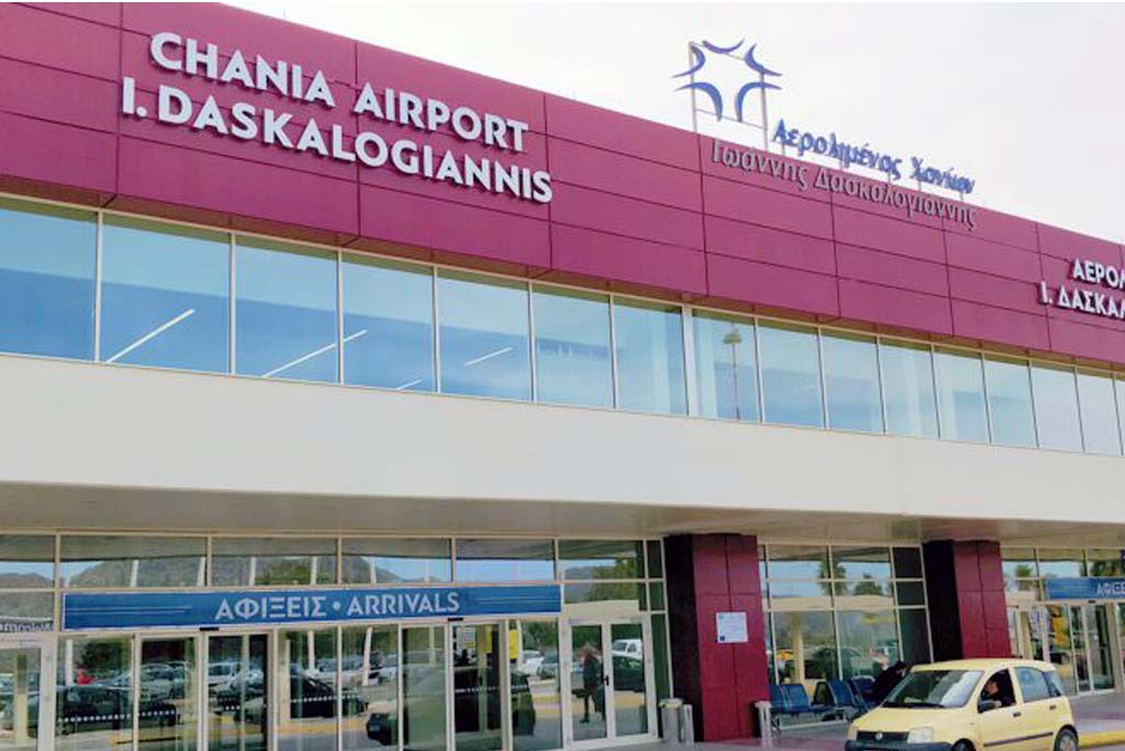 Rent a car in Chania Airport