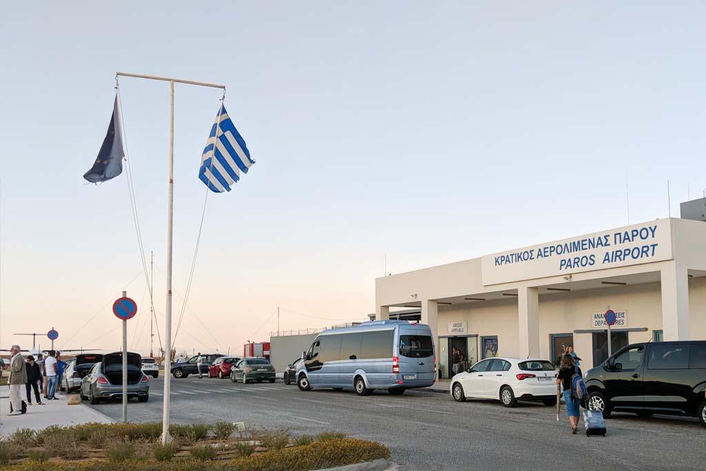 Rent a car at Paros Airport