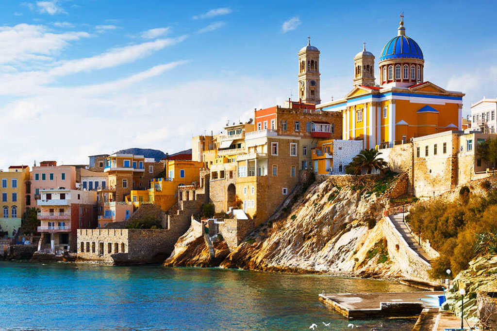 Rent a car in Syros