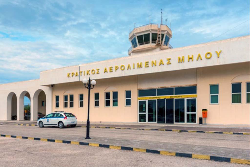 Rent a car in Milos Airport